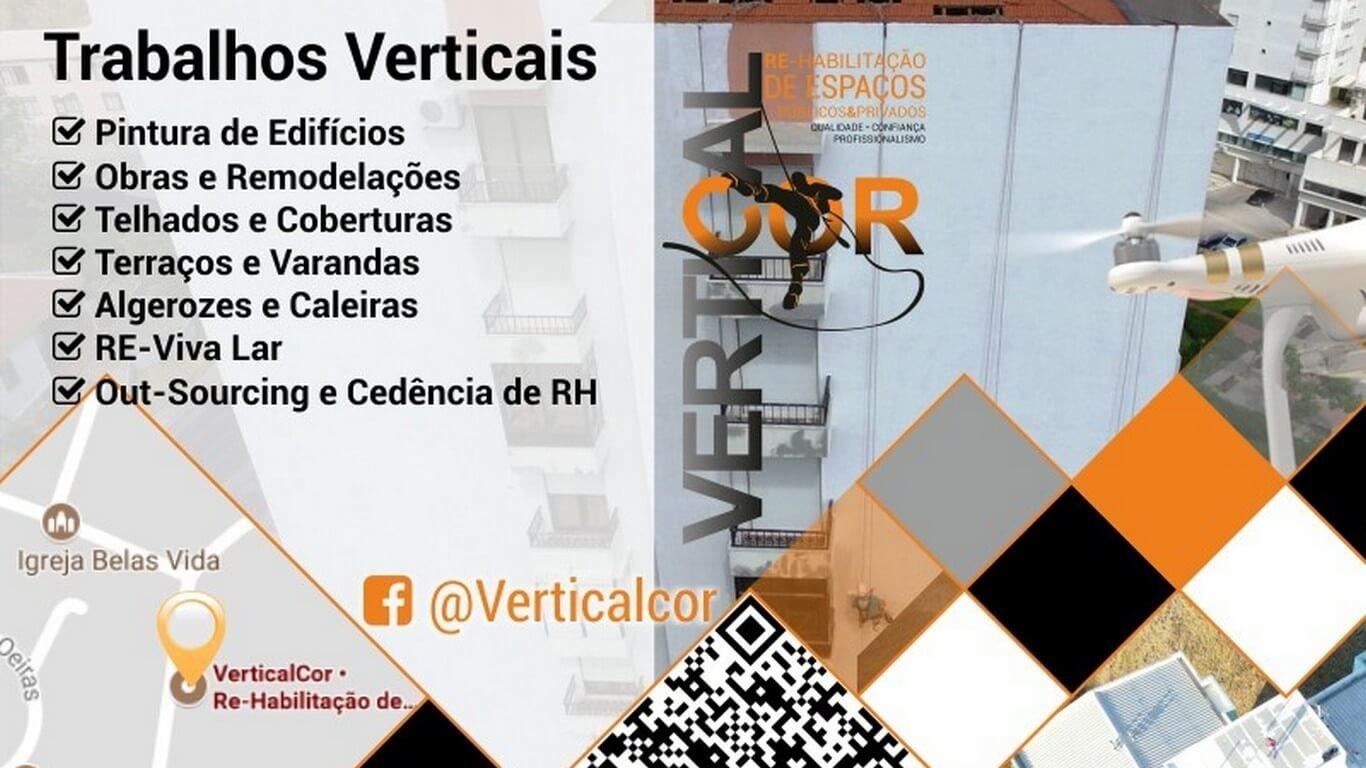 VerticalCor • Re-Habilitação de Espaços Públicos & Privados