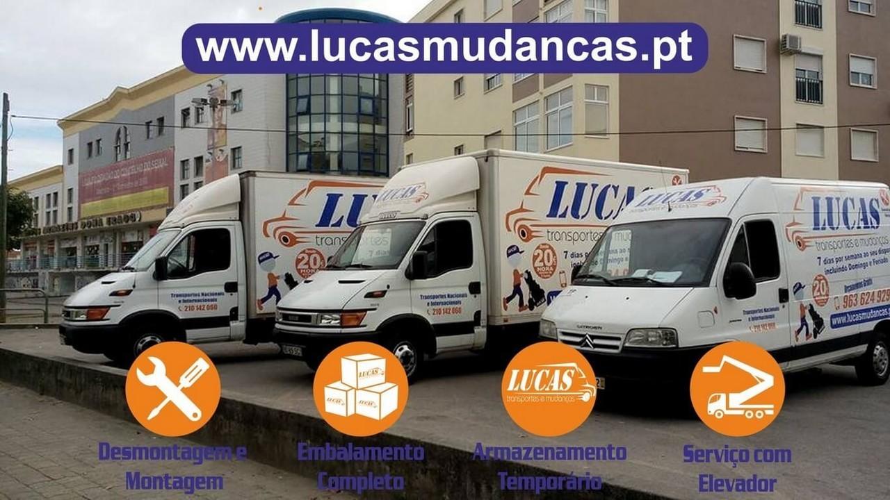 Lucas Mudanças (Lucas® Boxes Transportes e Mudanças)